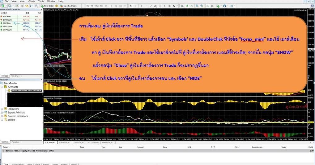 Thailand forex