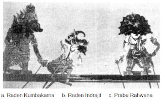 Wayang gaya Cirebon, dalam cerita Ramayana