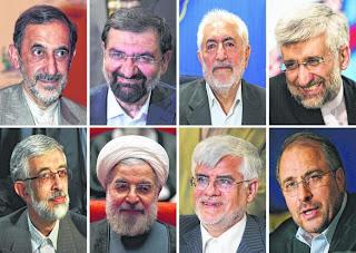 Enam calon presiden Iran