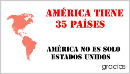 América tiene 35 países