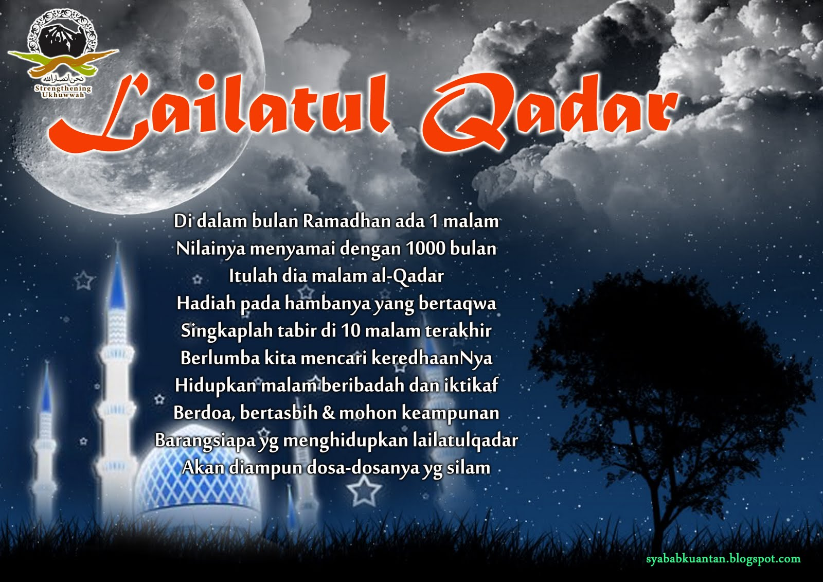 Jom, Memburu Lailatul Qadar!