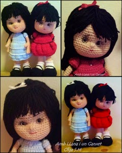Crochet Pattern Human Doll : 2000 Free Amigurumi Patterns: Patron Munequitas: free doll ...