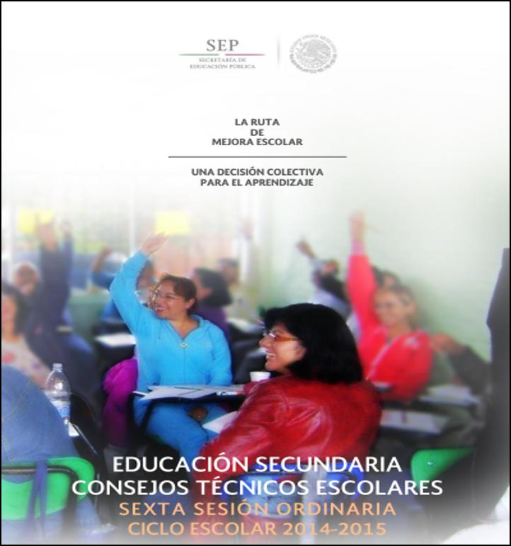 Guía de la 6ta Sesión del CTE SECUNDARIA