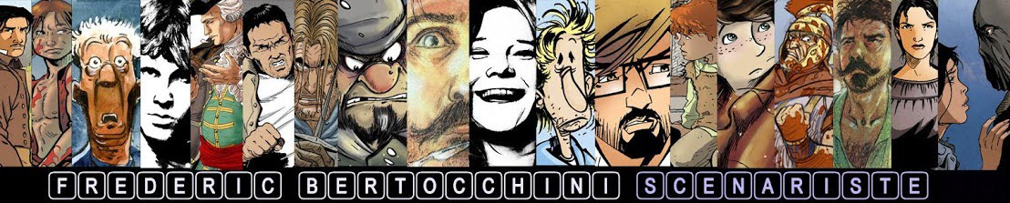 Bertocchini, scénariste de bande dessinée