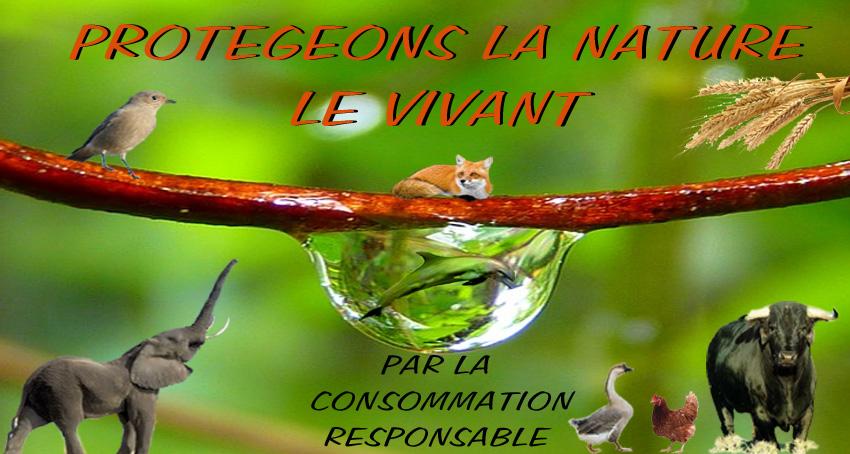"Souvent Protégeons la Nature"" TQ59"