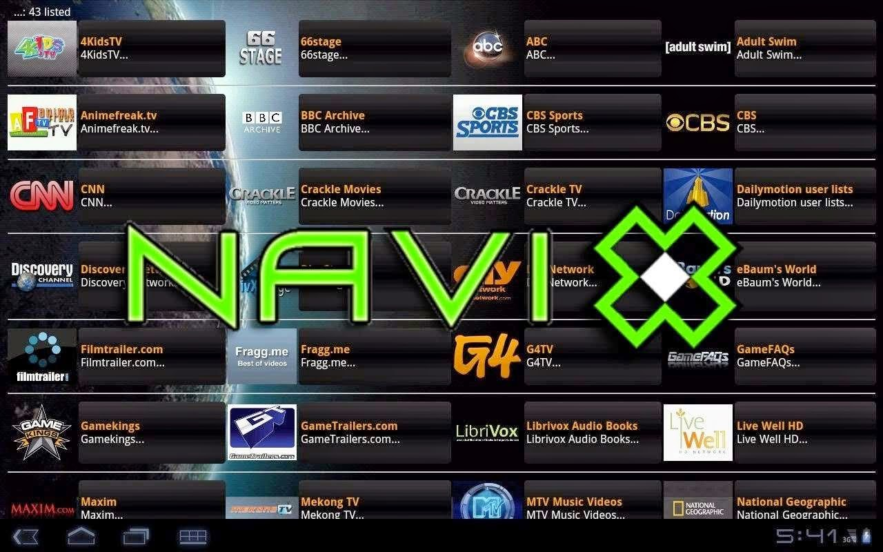 Add-on Navi-x Xbmc