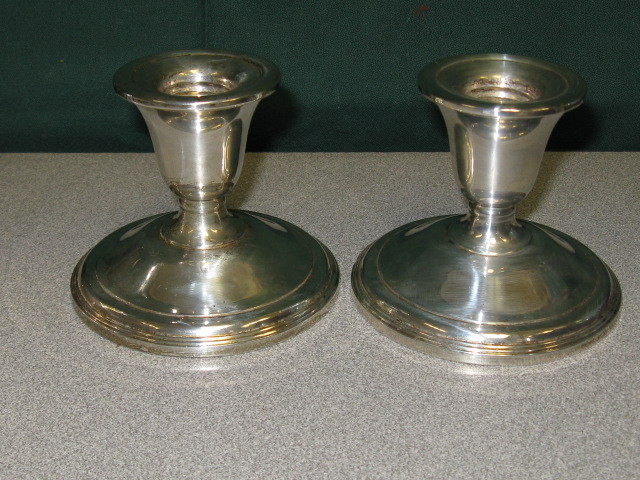 Cash It Stash It Or Trash It Sterling Weighted Candlesticks