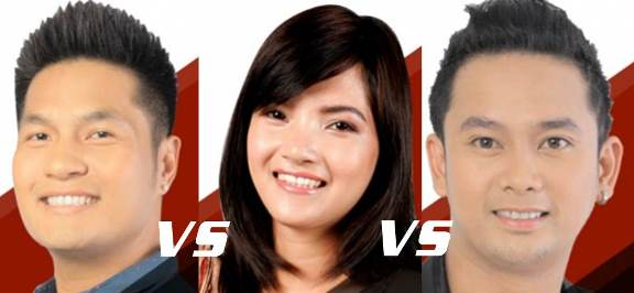 Juvie Pelos vs RJ dela Fuente vs Rainier Acosta | The Voice of the Philippines Battle Rounds