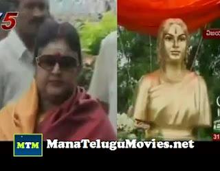 Savitri statue unveiled by Vanisree – 31st Aug Film Round-Up