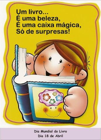 18 de Abril- Dia Nacional do Livro Infantil