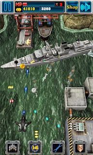 Screenshots of the Air Attack Death 3D for Android tablet, phone.