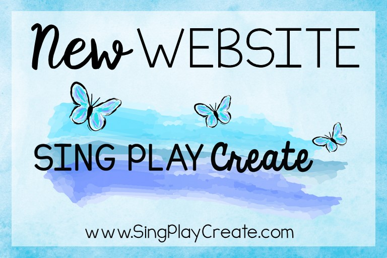 New Website! www.singplaycreate.com