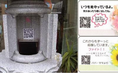 Canggih Kuburan Jepang Sudah Dilengkapi Dengan QR Code Untuk Mengenang Almarhum