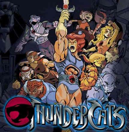 Thundercat 2011 on La Serie Thundercat Era Una Mezcla De La Est  Tica De Los Comics