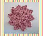 Twirlagig Flower Crochet Pattern