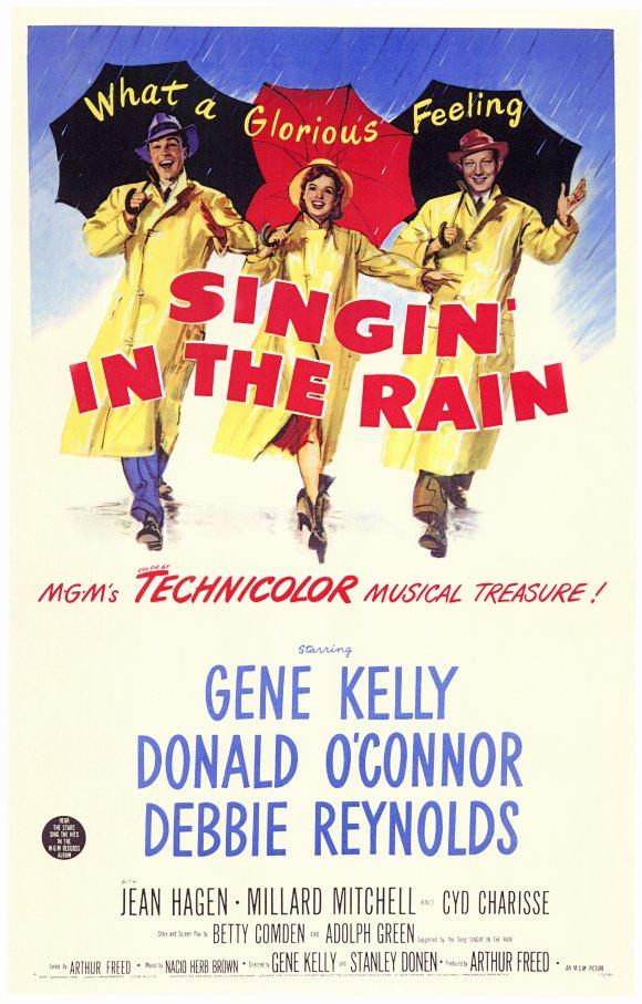 Patty's Posters: Singin' in the Rain Cantando Na Chuva