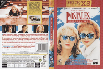 Carátula dvd: Postales desde el filo (1990) (Postcards from the Edge)