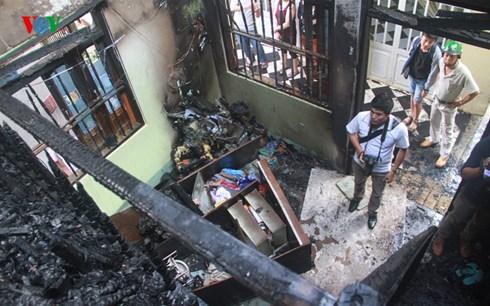Gia Lai: Nhà đang rao bán, bất ngờ cháy rụi