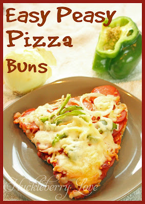 easy pizza buns