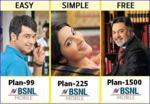 BSNL Mobile Postpaid Plans
