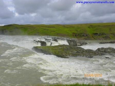 cascada urridafoss islandia