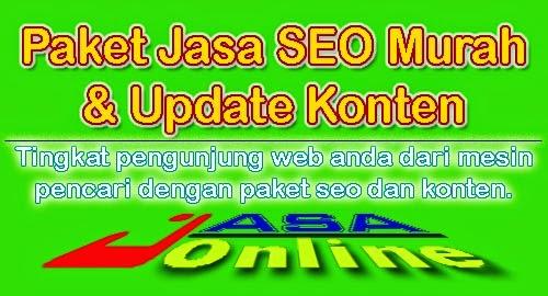 Paket Layanan Jasa SEO dan Update Konten