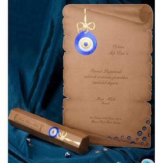 Carte d'invitation mariage musulman pas cher