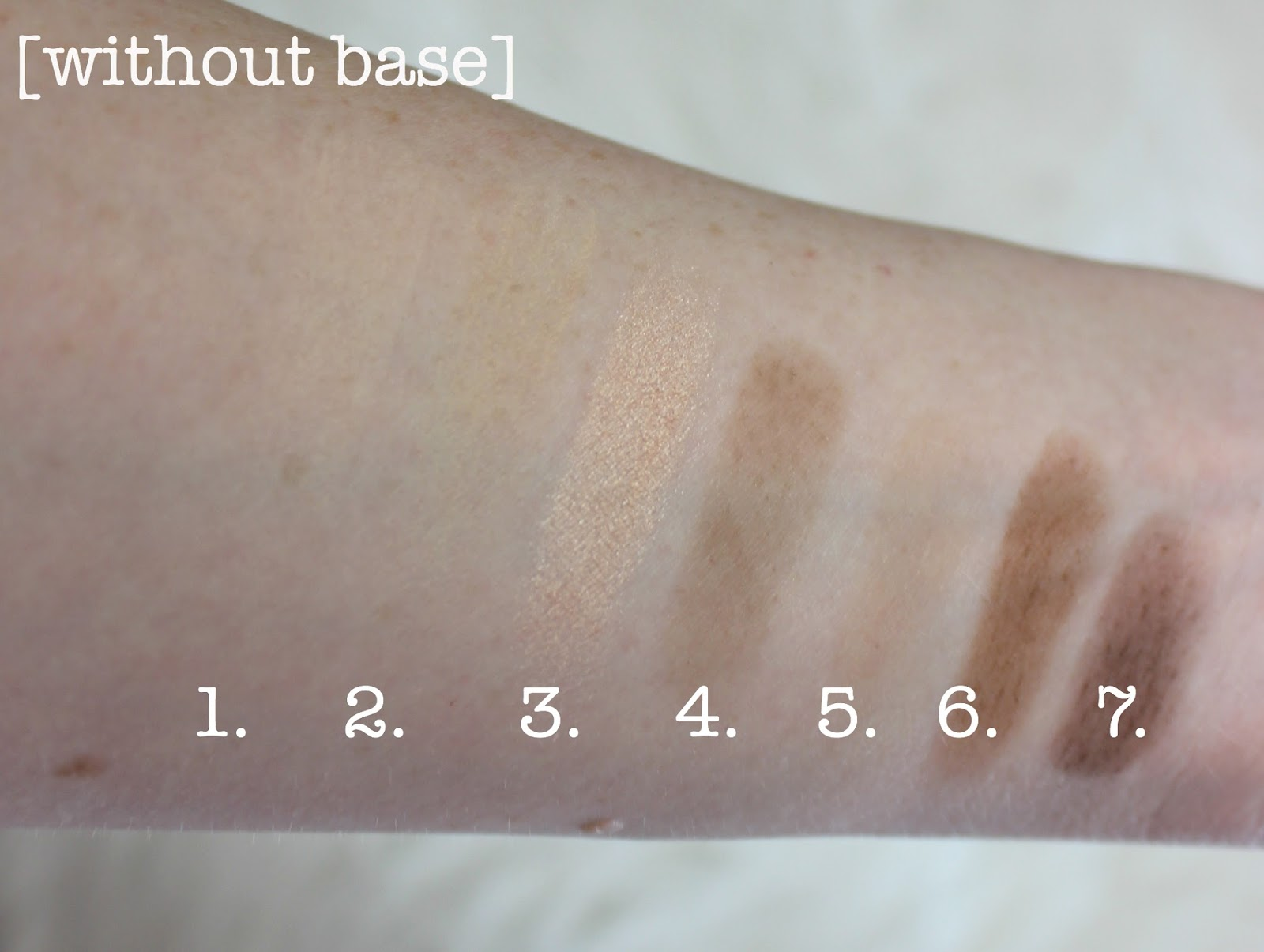 wayne goss paula's choice nude mattes eyeshadow swatches review