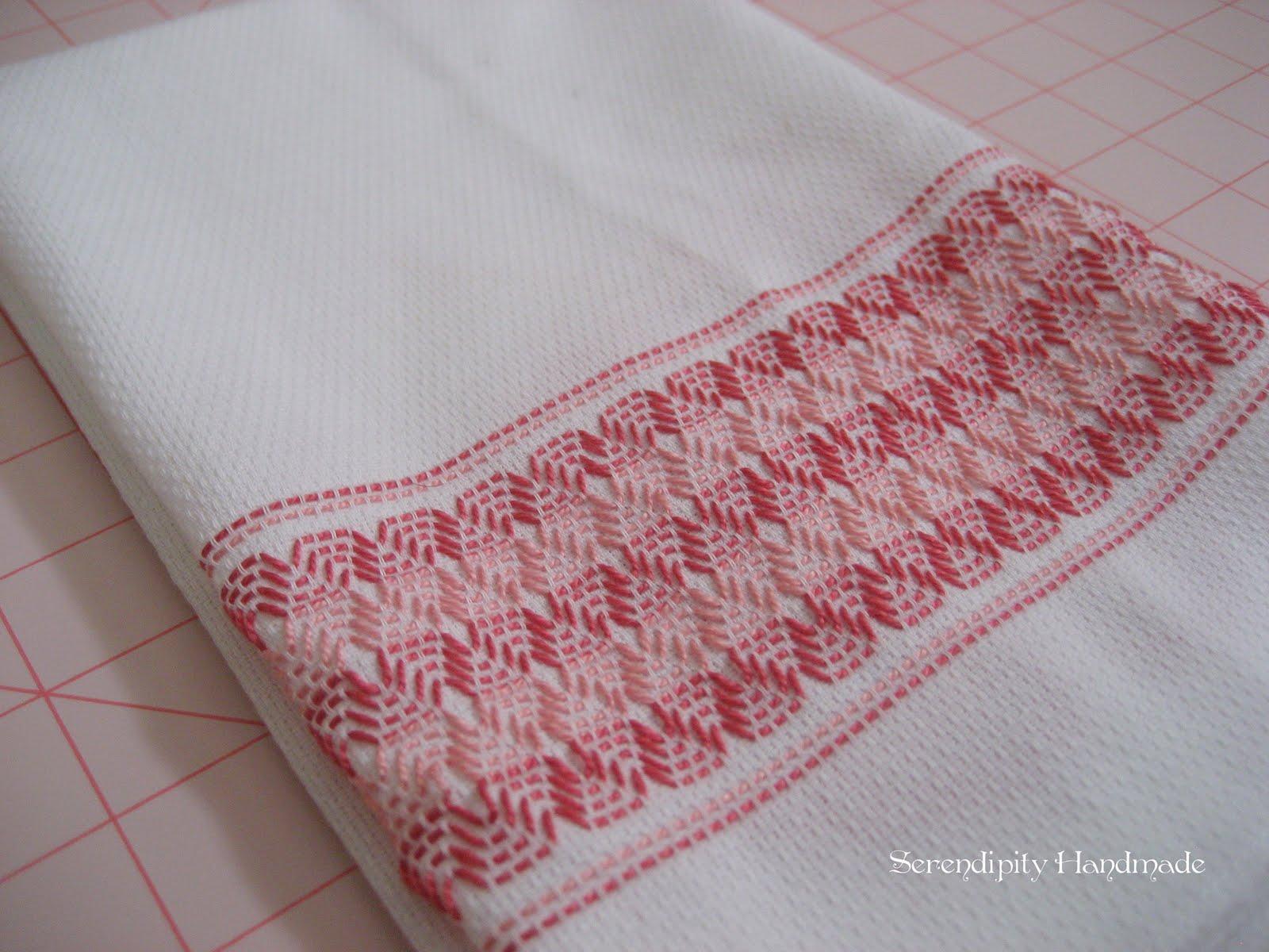 Serendipity Handmade Swedish Weaving Huck Embroidery Tutorial