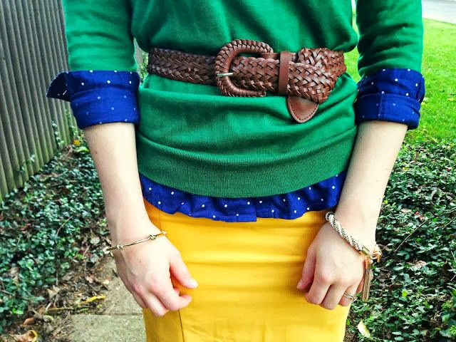 Jewel Tone Outfit