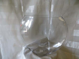 Clear Large Pillow vase for Succulent Terrarium