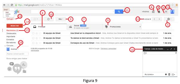Herramientas para el aprendizaje gmail para docentes for Correo la 14