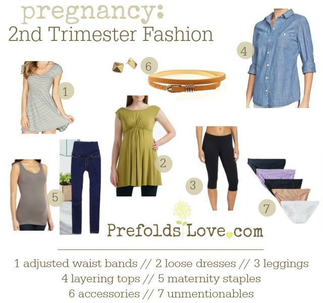 Pregnancy // 2nd Trimester Fashion