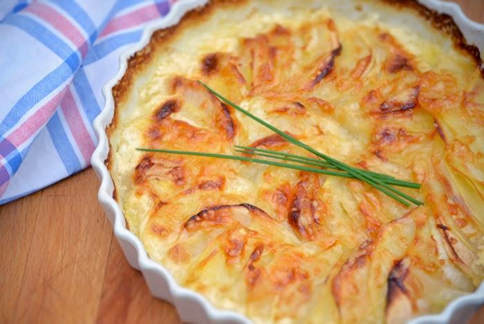 kitchen love apfel kartoffel gratin