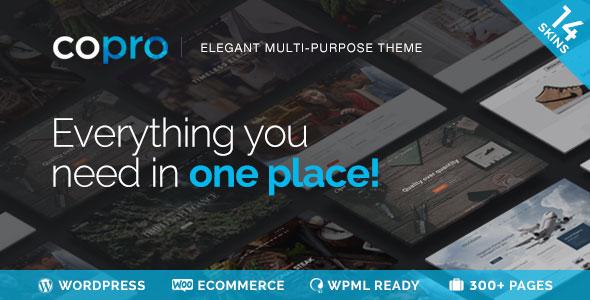 Free Download CoPro V1.5 - Responsive Multipurpose WordPress Theme