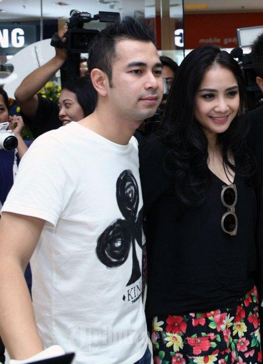 Foto: Raffi Ahmad dan Nagita Slavina