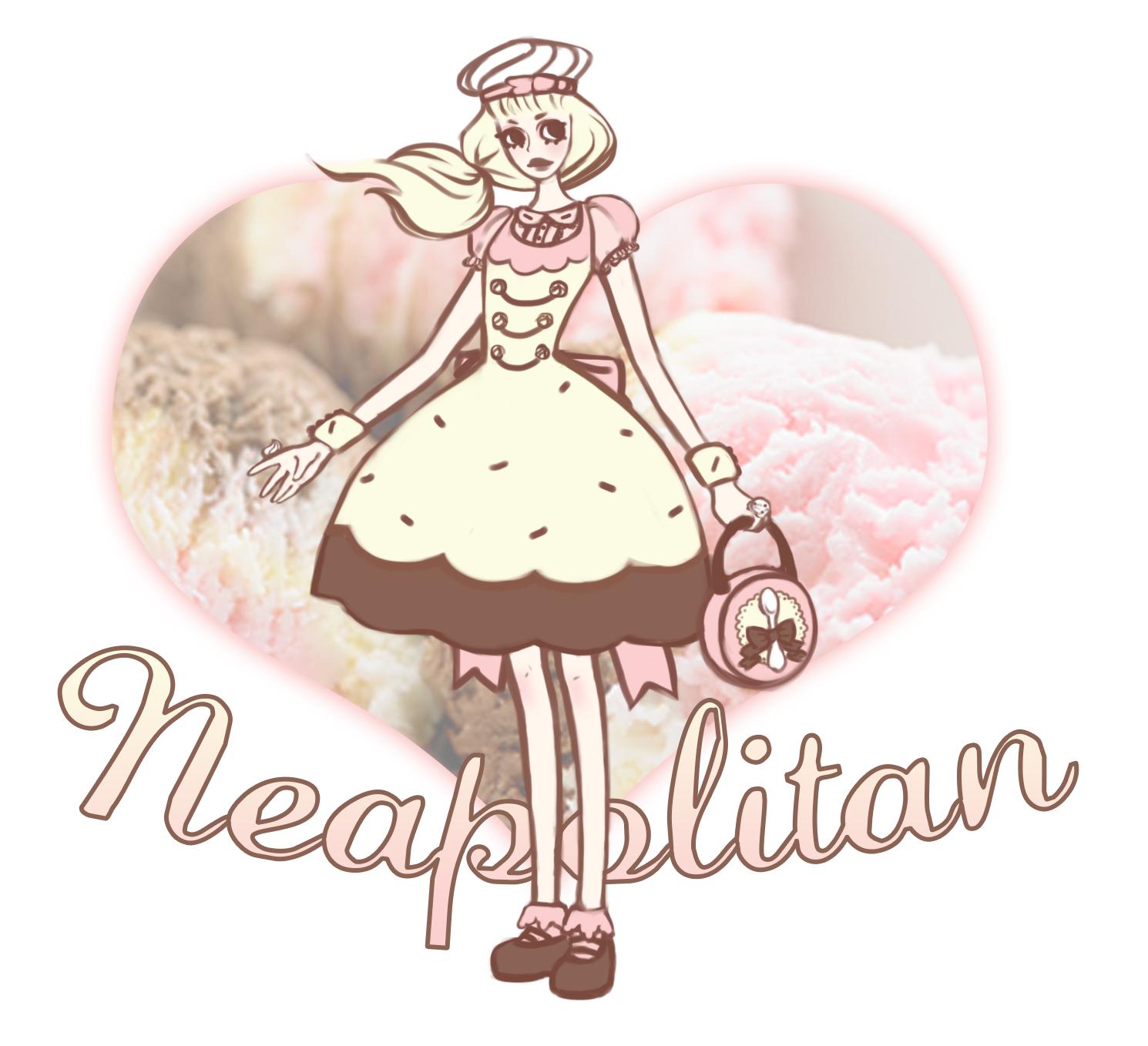 lolita, fashion, harajuku, classic, neapolitan, dessert, kawaii