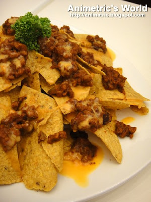 Nachos with Beef and Cheese Sauce at FIC The Ice Cream Bar