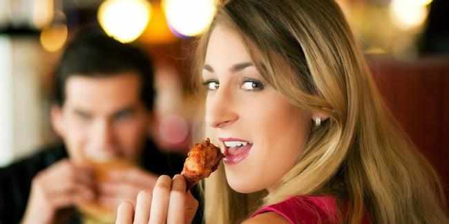 makan ayam