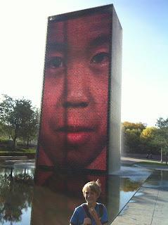 great public spaces for children at Millennium Park