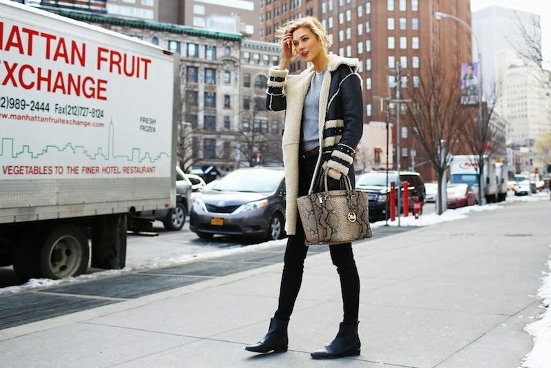 NYFW F/W 2014/15, Street Style, Jeremy Scott, Prada,