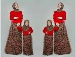 Baju Muslim Gamis Emily Mom Kids GC2150 HABIS