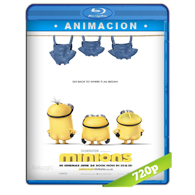 Los Minions (2015) BRRip 720p Audio Trial Latino-Castellano-Ingles 5.1