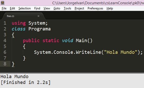 C En Sublime Text Compilar Y Ejecutar Taringa