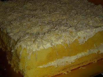 Kek Keju Cheddar
