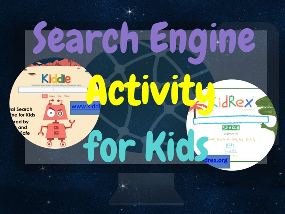 Classroom freebies too search engines for kids activity