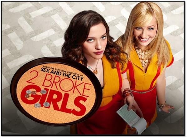 2 BROKE GIRLS Max et Caroline Williamsburgh new York