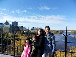 Alexei, Mônica, Lara e Davi
