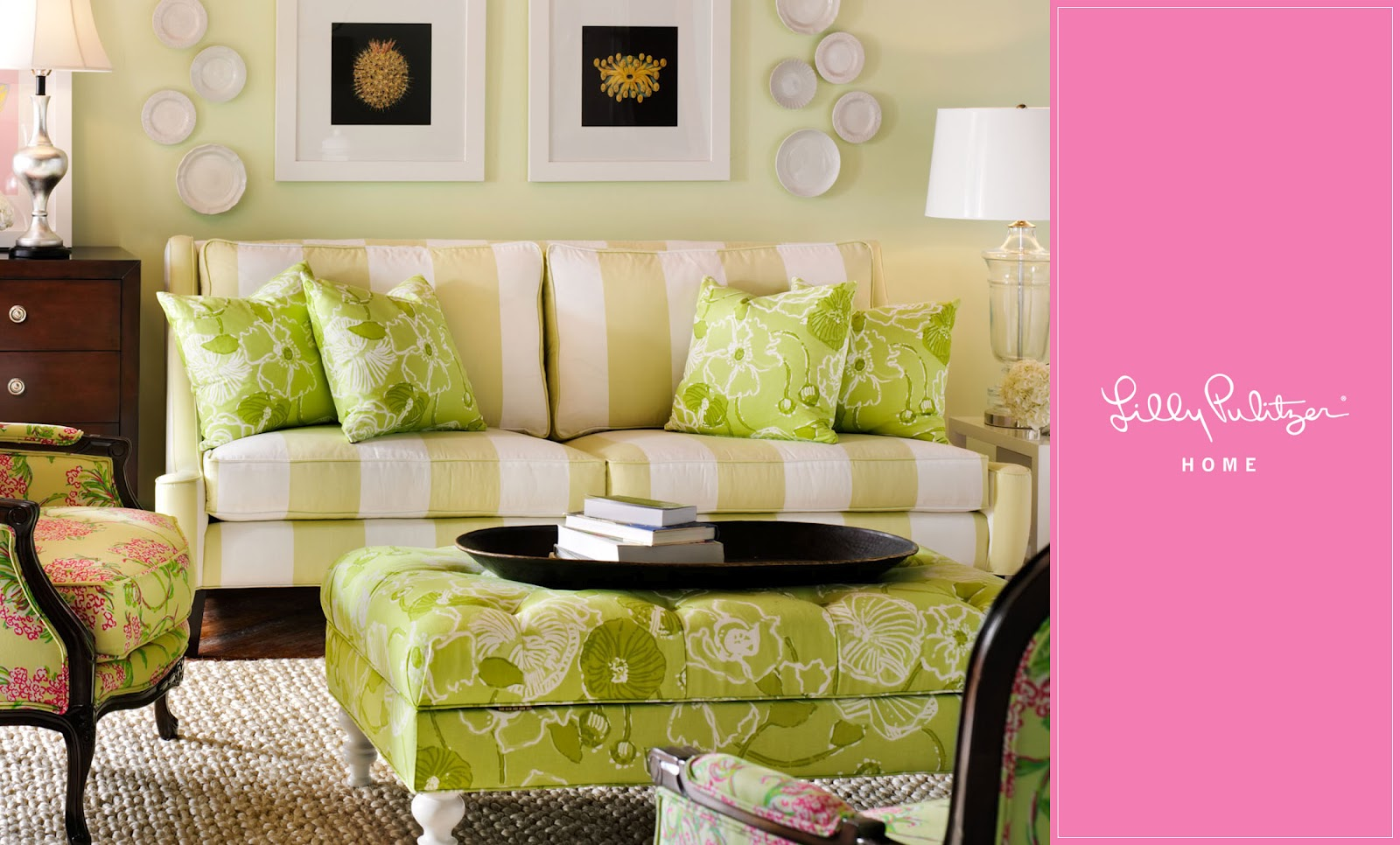 Lilly Pulitzer Furniture Sybaritic Spaces Lilly Pulitzer's Chinoiserie Furniture