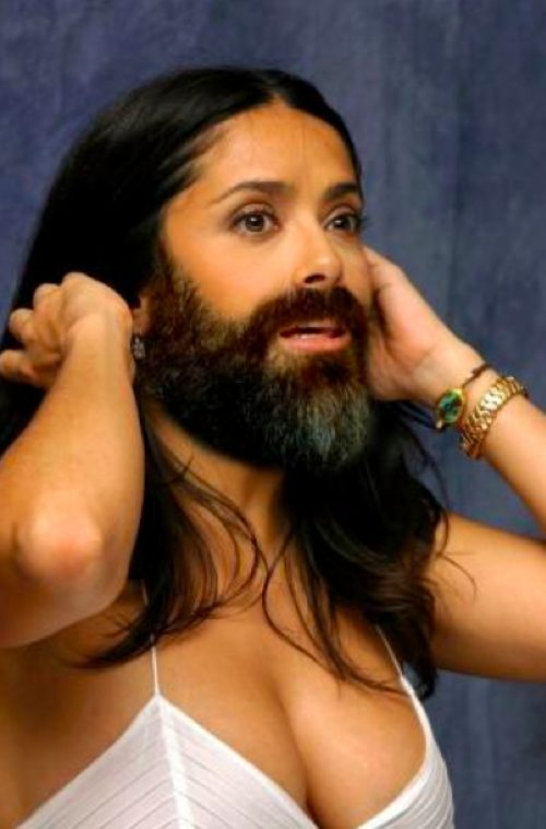Celebrity Women With Beards to Find Women With Beards